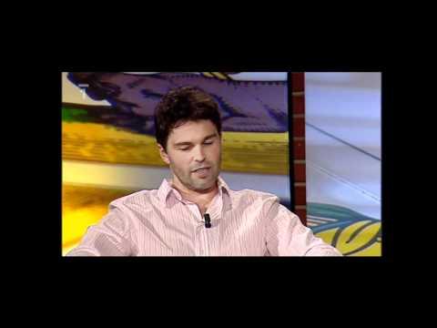 Jaromir Jagr a Milan Novy - u Miroslava Donutila (HD)part.1