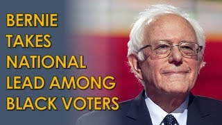 Bernie Sanders LEADS among Black Voters in Post-Nevada National Poll