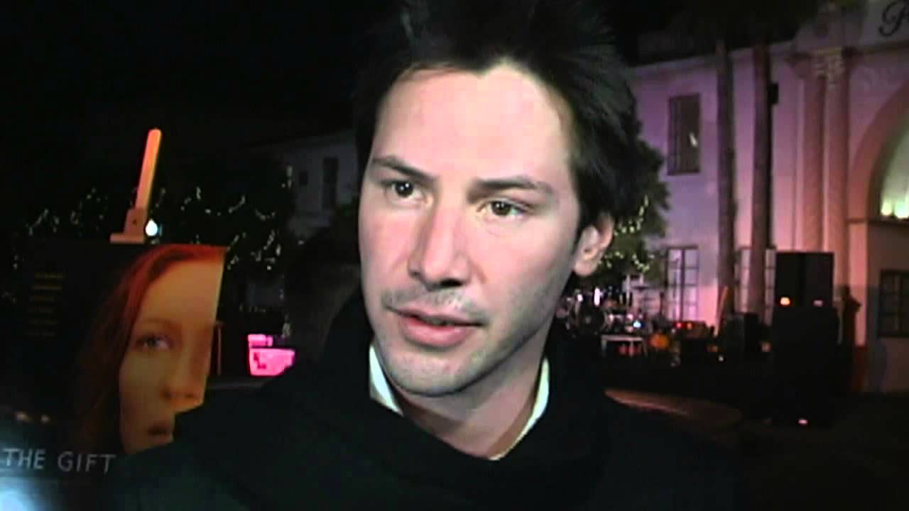 The Gift: Keanu Reeves Interview - YouTube