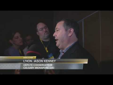 2016 Conservative Convention – Jason Kenney Speaks to Reporters