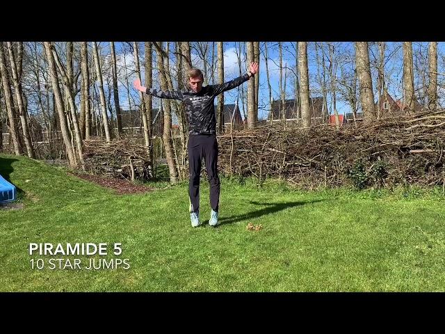 Piramide Training | Thuis trainen met de Sportpleats nr. 7