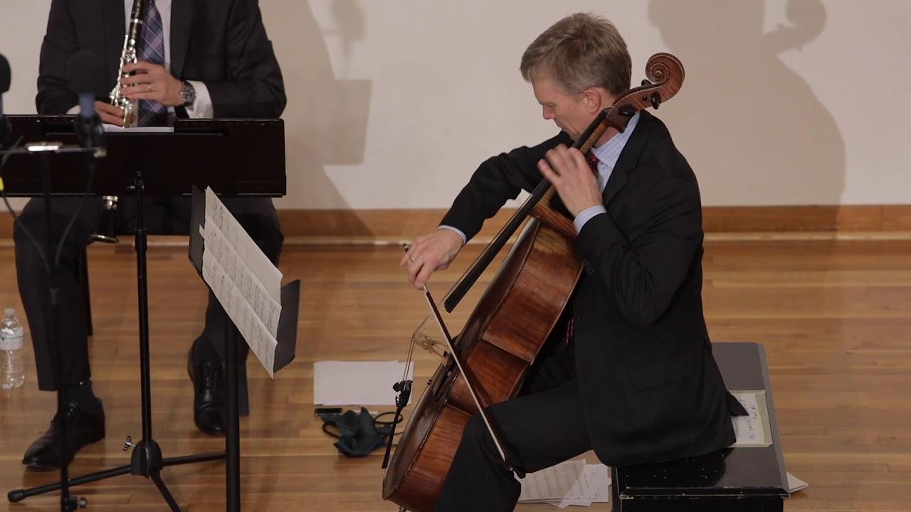 Brian Nabors:3 Dances for Flute, Clarinet Cello