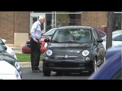 Fiat first American dealership in Lakeside, small cars in America