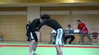 20130630全日本ノーギアダルトNO-GI白帯フェザー決勝中山 曲山えり 動画 10