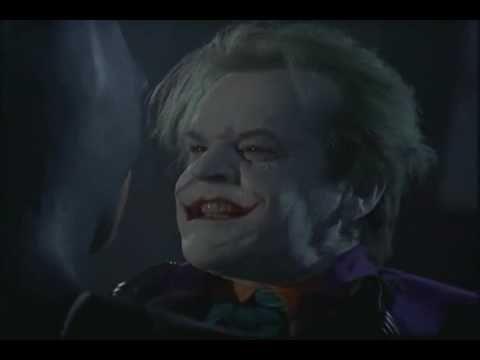 Batman vs Joker ( From Batman [1989] )