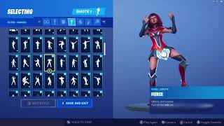 *UPDATED* Fortnite Valor Skin Outfit Showcase with All Dances & Emotes