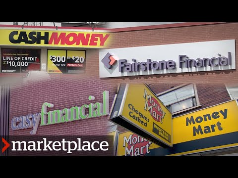 The truth about high-interest loans: Hidden camera investigation (Marketplace)