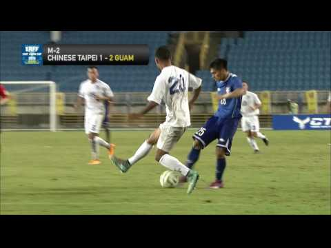 CHINESE TAIPEI - GUAM Highlights (Men's)