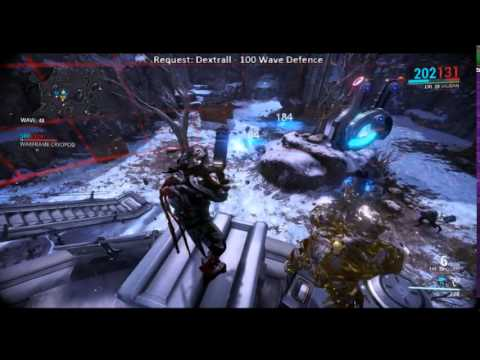 WarFrame - 150 Wave Defence - Romula Full Gameplay - Part 1/2