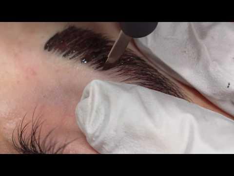 Microblading Eyebrows Step by Step Tutorial by Précis Brows