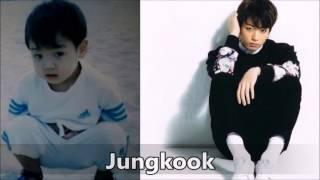 Quá trình trưởng thành của út cưng nhà ta BTS JUNGKOOK