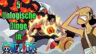5 Unlogische Dinge in One Piece! (Marineford Spezial!) | SerienReviewer