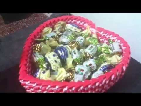 Cajita Corazn Origami 3d YouTube