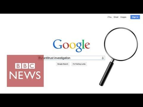 EU accuses Google of search 'abuse' - BBC News