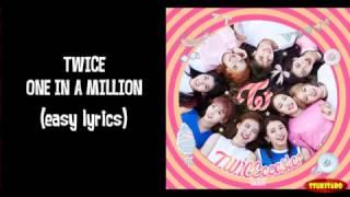 Download Video TWICE - One In a Million Lyrics (easy lyrics) MP3 3GP MP4