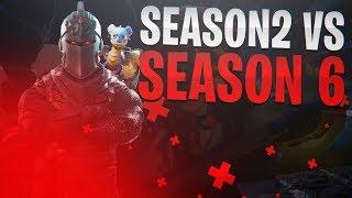 Season 2 VS Season 6...-Fortnite BR