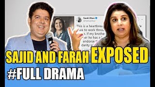 SAJID and FARAH EXPOSED  | Full Story | Amrita Puri, Farah , Akshay Kumar, Riteish Deshmukh  |#Metoo