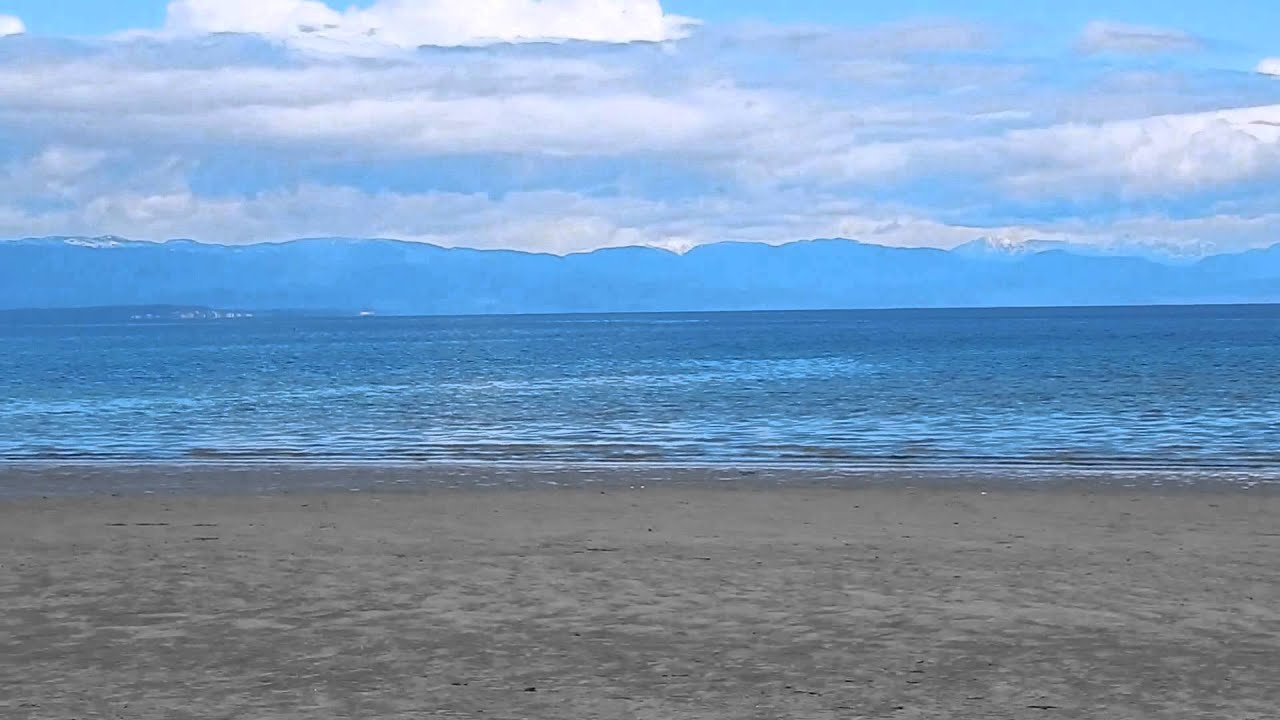 Saratoga Beach On Vancouver Island