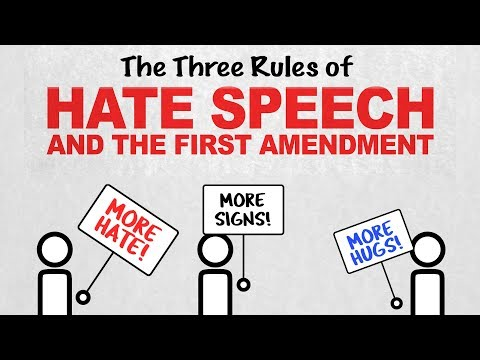 The 3 Rules of Hate Speech: Free Speech Rules (Episode 2)
