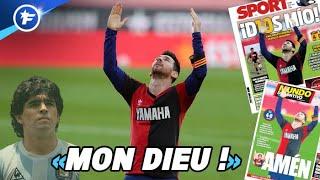 L'hommage spécial de Lionel Messi à Diego Armando Maradona fait sensation | Revue de presse