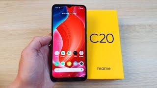 REALME C20 - ОЧЕНЬ ДОСТУПНЫЙ СМАРТФОН С NFC!