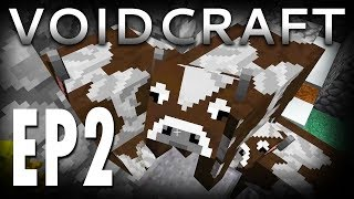 VOIDCRAFT EP 2 - Bring in the Cows!   Minecraft
