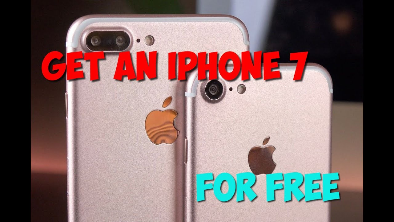 FREE IPHONE 7 GIVEAWAY