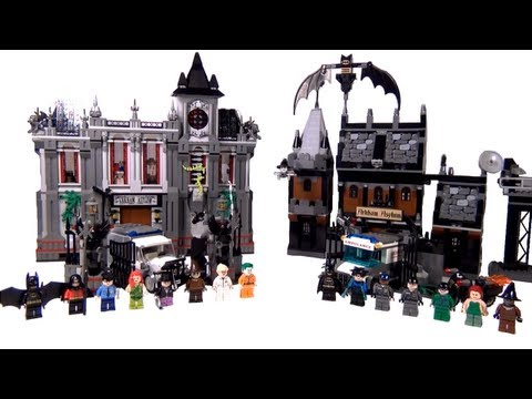 BrickQueen LEGO Batman Arkham Asylum Comparison 2006 7785 Vs. 2013 10937 DC Super Heroes