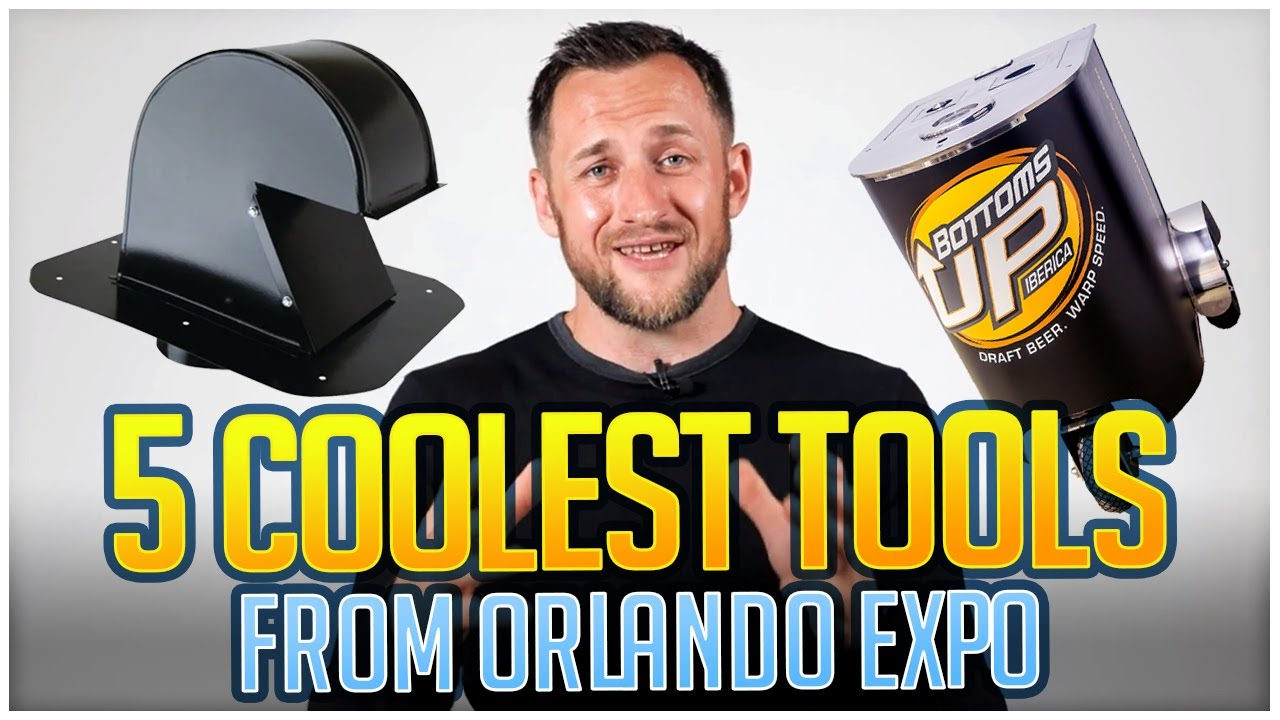5 cool Roofing Tools and products from Orlando Roof EXPO