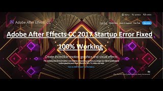 How to Fix After Effects Library Error