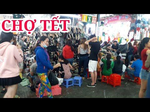 Khám phá chợ tết PHẠM VĂN HAI đông nghẹt người mua sắm tết | saigon travel Guide