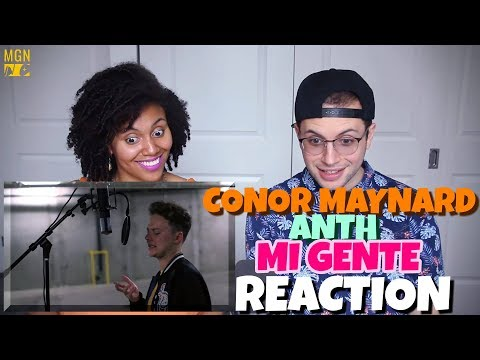 Conor Maynard & Anth - Mi Gente | J Balvin., Willy William | REACTION