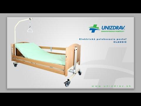 Elektrická polohovacia posteľ CLASSIC - VIDEOMANUÁL