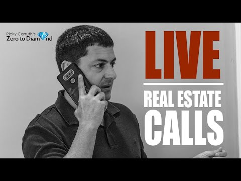 LIVE Real Estate Cold Calling With Ricky Carruth