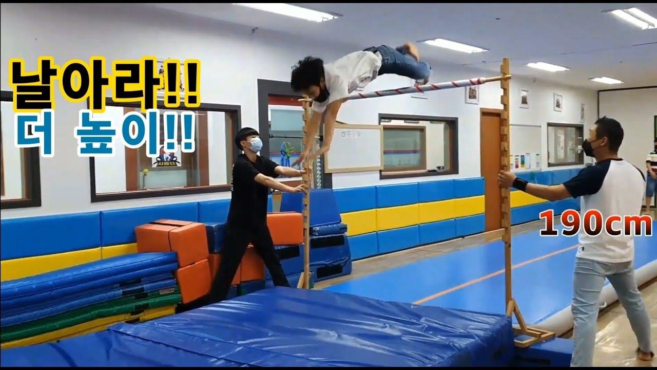 높이뛰기 최강자전!!(특공무술8시부!!) 멋져~ㅎㅎㅎㅎ Jump High (Second Story)