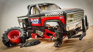 Restoration Of DESTROYED Ford RC Truck | Repaired and Upgraded