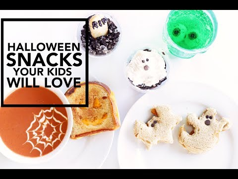 Halloween Snacks KIDS WILL LOVE