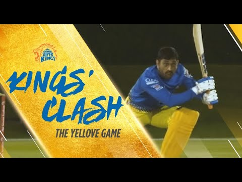Kings' Clash - CSK Intra-Squad Practice Match