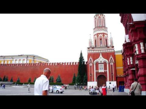 Никольская башня Московского Кремля, Москва, Красная площадь, Кремль, Россия