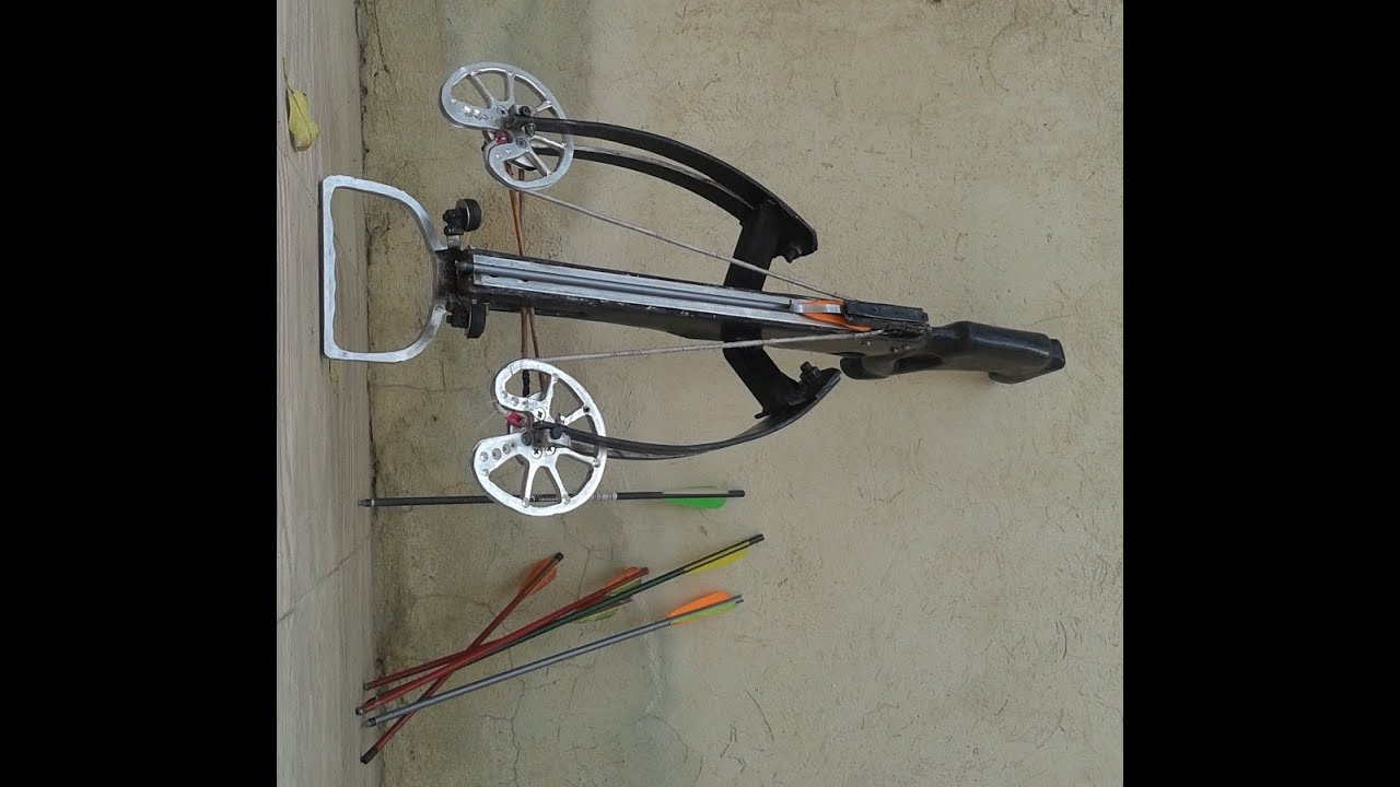 how to build a homemade crossbow