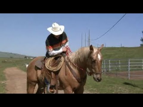 How To Teach A Horse To Mount From Both Sides; Rick Gore Horsemanship; Www.thinklikeahorse.org