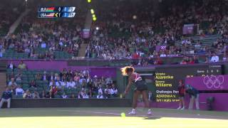 S. Williams (USA) v Azarenka (BLR) Women's Tennis 1st Round Replay - London 2012 Olympics