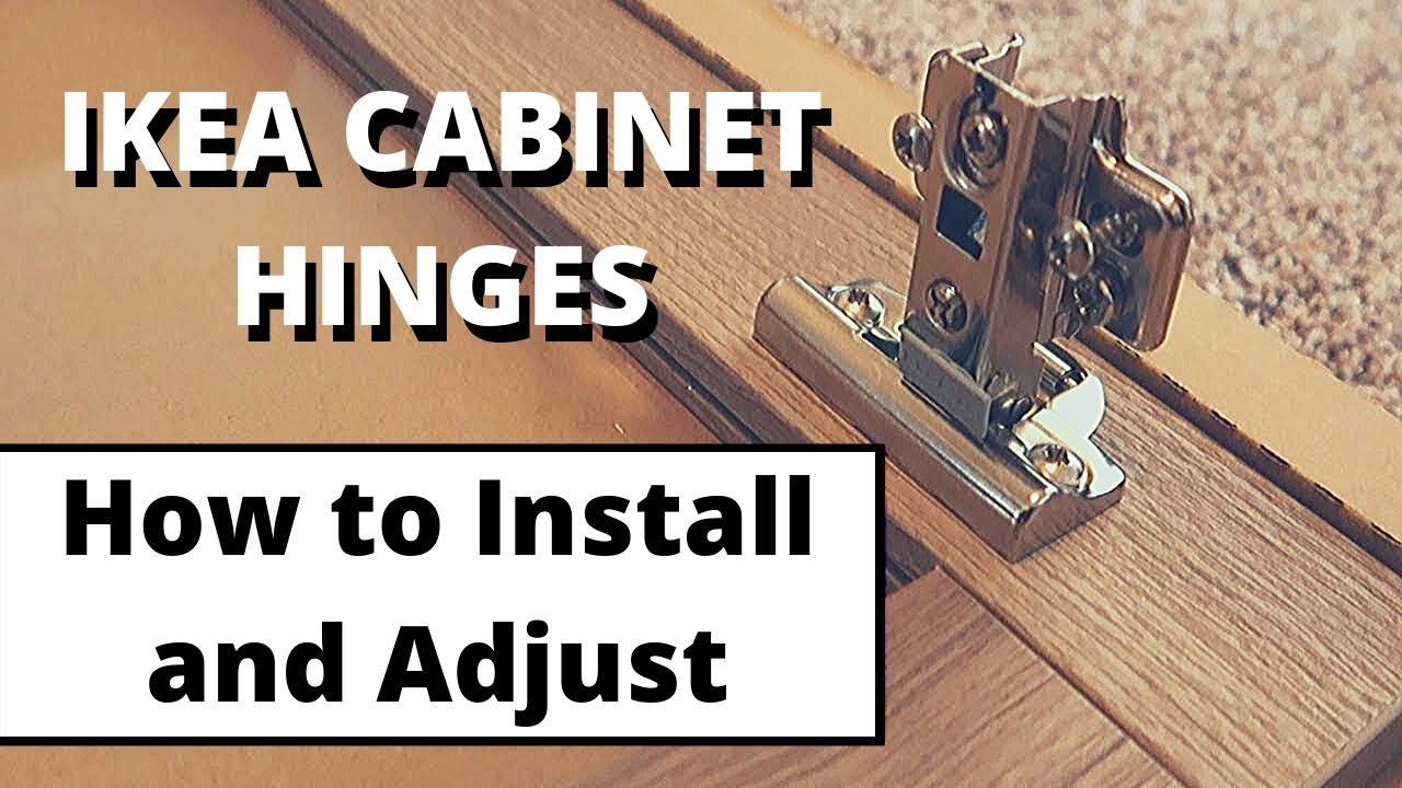 How to install Ikea cabinet doors and hinges S3 - E31