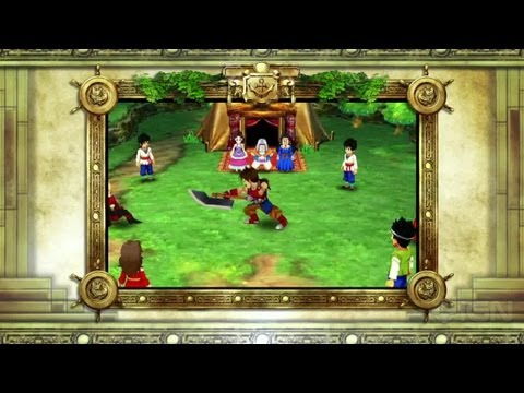 Dragon Quest VII 3DS Japanese Trailer