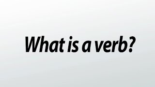 Verbs Definitions Functions  Examples (What is a Verb ?)