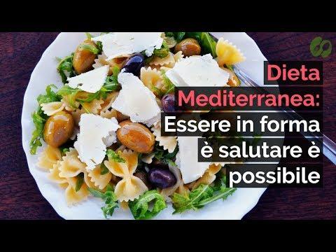 dieta mediterranea settimanale da 2000 calorie