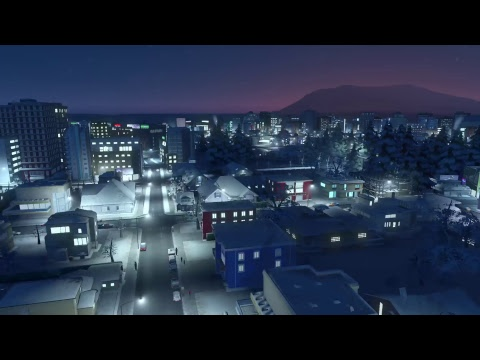 Cities: Skylines - Strife in a Northern Town (PS4 Pro)