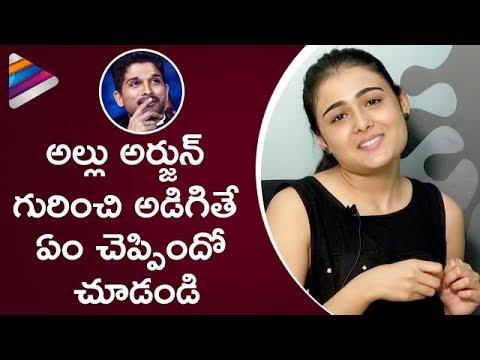Shalini Pandey Comments about Allu Arjun | Arjun Reddy Movie Interview | Vijay Deverakonda