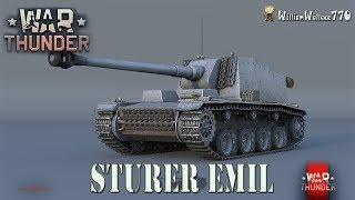 ► WarTHUNDER | Sturer Emil 5.7 | Tanques Alemanes | Juego GRATIS EN ESPAÑOL