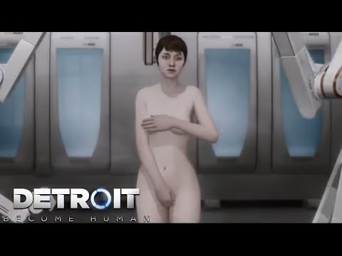 KARA'S SECRET BACKSTORY! NAKED AND VULNERABLE - Detroit: Become Human (Kara Tech Demo)